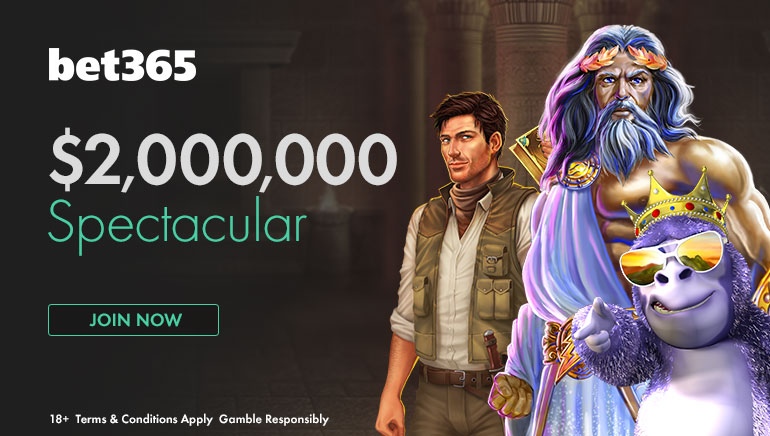 No te pierdas la Spectacular Promotion del casino bet365