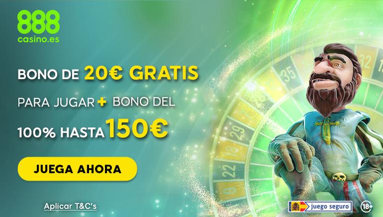 Echa un vistazo a la nueva oferta de bienvenida de 888 Casino para los jugadores españoles