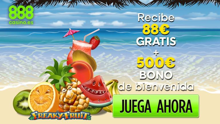El casino 888 tiene para sus jugadores españoles una oferta que no podrán rechazar