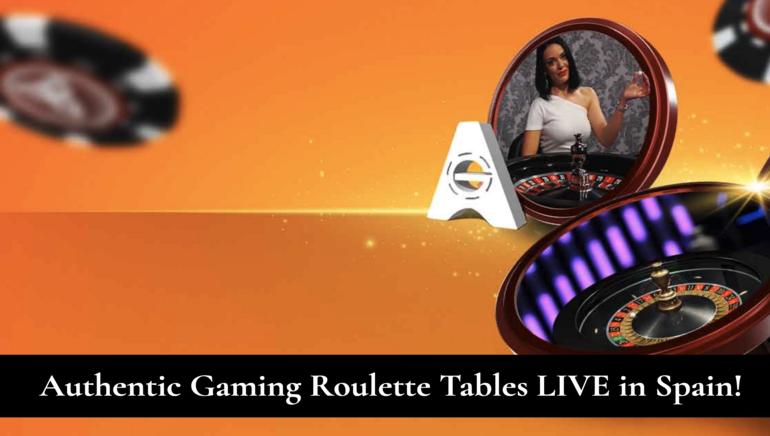 ¡Las mesas de ruleta de Authentic Gaming ya han llegado a España de la mano de LeoVegas!