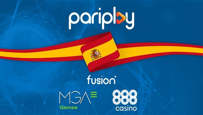 Pariplay accede al mercado español de la mano de 888casino