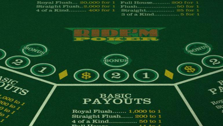 Ride'm Poker