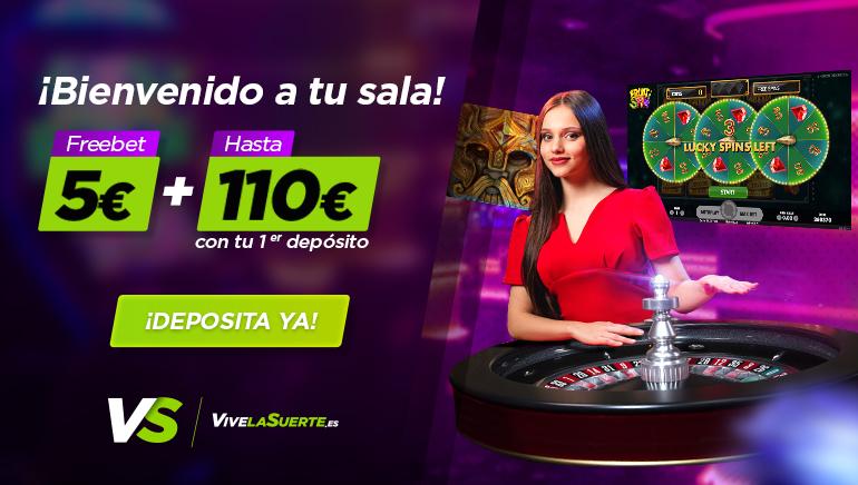 El casino VivelaSuerte lo ha vuelto a hacer: 5 euros gratis